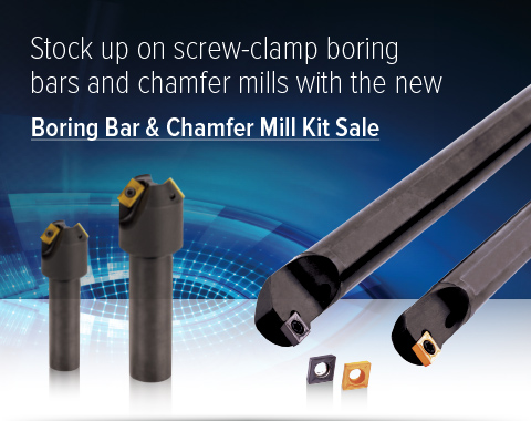 Boring Bar and Chamfer Mill Kit Sale